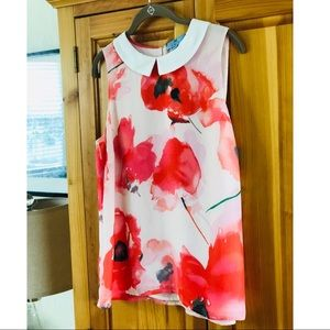Cece Sleeveless Blouse